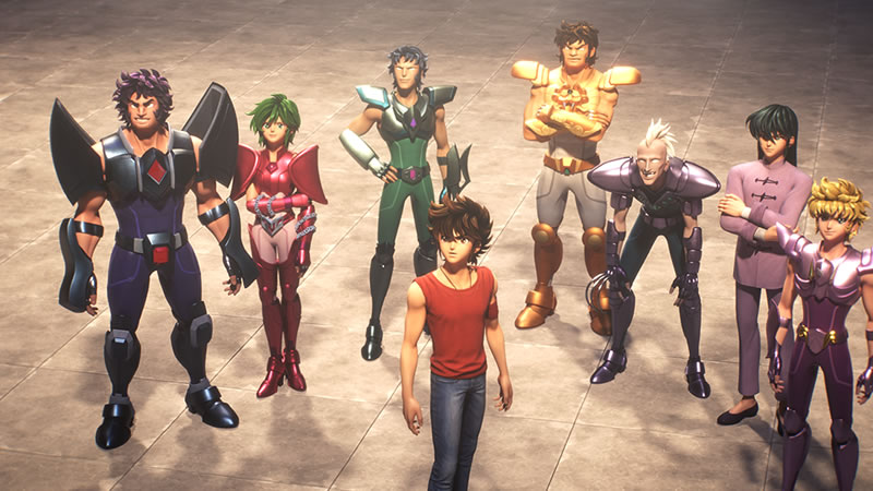 Netflixオリジナルアニメ 『聖闘士星矢: Knights of the Zodiac』レヴュー